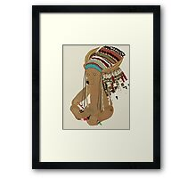 chief ted Framed Print