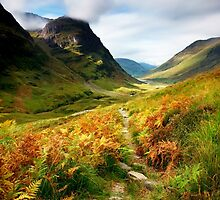 Autumnal Glencoe by John Ellis