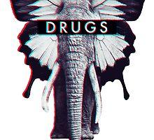 High Drugs Acid  Elephant Wasted Youth  by changetheworld
