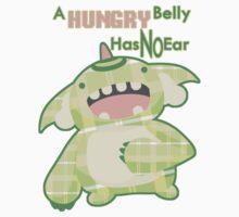 Hungry Omnomnom Monster by zerojigoku