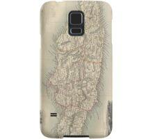 Vintage Map of Jamaica (1851) Samsung Galaxy Case/Skin