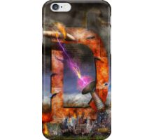Steampunk - Alphabet - D is for Death Ray iPhone Case/Skin