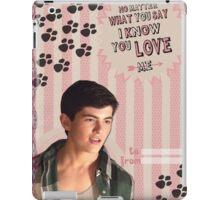 My Teenwolfed Valentine [I Know You Love Me] iPad Case/Skin