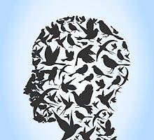 Bird a head by Aleksander1