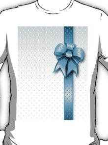 Turquoise Present Bow T-Shirt