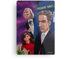The Twelfth Doctor Who Metal Print