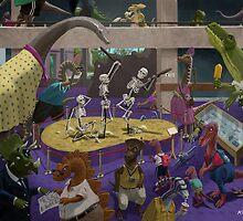 Cartoon Dinosaur Museum by martyee