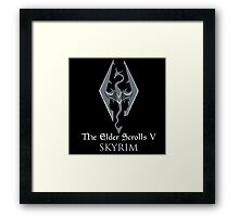 The Elder Scrolls V: Skyrim Framed Print