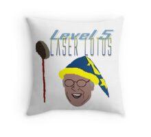 Community - Pierce, Laser Lotus Throw Pillow