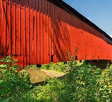 Sim Smith Covered Bridge by Kenneth Keifer