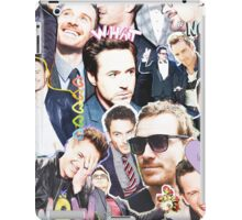 rdj/fassy collage iPad Case/Skin