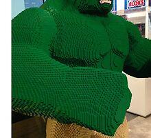 Lego hulk by Franker316
