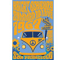 Haight Ashbury Summer Of Love Photographic Print
