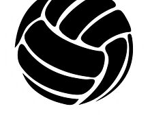 Volleyball - Black by cpotter