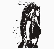 Chief Headress Native Pinup Kids Clothes