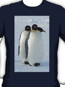 Emperor Penguins Huddled T-Shirt