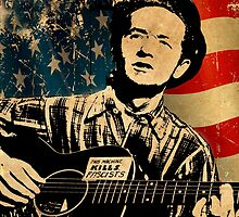 Woody Guthrie 1 by AndrewFare