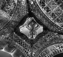 Bottom of the Eiffel by Michael Stiso