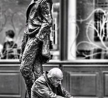 Old Man and James Joyce by Michael Stiso