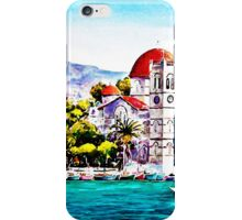 Tranquil harbour iPhone Case/Skin
