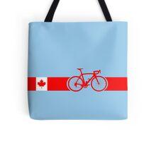 Bike Stripes Canadian National Road Race Tote Bag