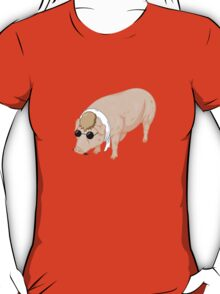 Porco Rosso Back To Home T-Shirt