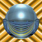 Spherically Mirrored Sunlit Stadium  by barrowda