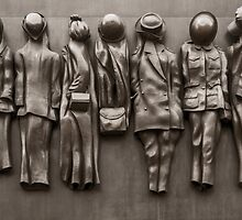 Monument to the Women of World War Two by Sue Martin