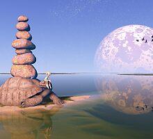 Zen Tortoise by tikirussy