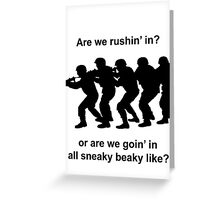 CSGO Sneaky Beaky Shirt Greeting Card