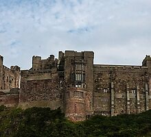 Bamburgh Castle by Marylou Badeaux