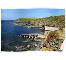 The Old Lizard Lifeboat Station, Cornwall Poster