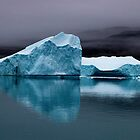 Canadian Arctic Iceberg by Marylou Badeaux