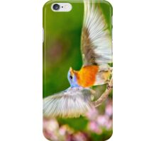 Eastern Bluebird Light as a Feather iPhone Case/Skin