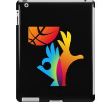 Basketball World Cup 2014 big logo iPad Case/Skin