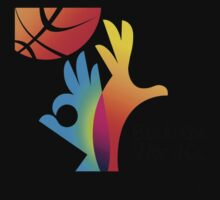 Basketball World Cup 2014 big logo by JoAnnFineArt
