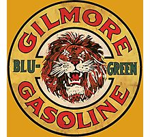 Blu-Green Gilmore Gasoline Photographic Print