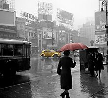 Yellow Cabs New York 2 by AndrewFare