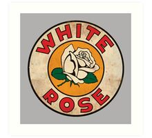 White Rose Oil And Gas Art Print
