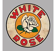 White Rose Oil And Gas Photographic Print