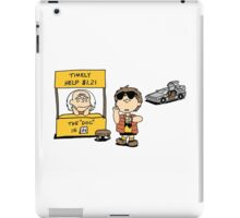 Peanuts Back 2 The Future iPad Case/Skin