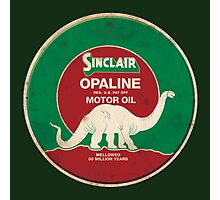Sinclair Opaline Motor Oil Photographic Print