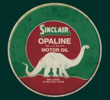 Sinclair Opaline Motor Oil by Museenglish