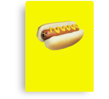 Hot Doge Canvas Print