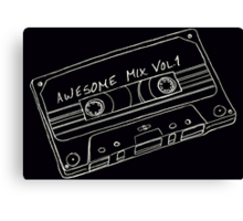 Awesome Mix  Vol. 1  Canvas Print