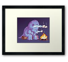 Triceramallows Framed Print