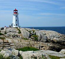 Peggy's Cove, Halifax, Canada by Margaret  Shark
