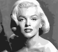 Marilyn Monroe by ted165