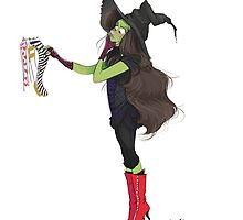 Wicked Witch of the west by Lifeanimated