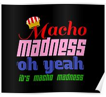 Macho Madness (Mario Colors Edition!) Poster